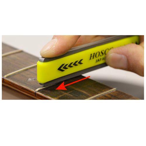 4pcs FPRSET with Fingerboard Guards Hosco Fret Sanding//polishing rubber Set